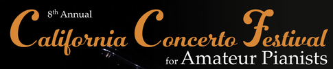 California Concerto Festival for Amateur Pianists